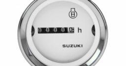 Счетчик моточасов Suzuki, белый