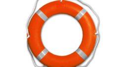 Пластиковый спасательный круг
