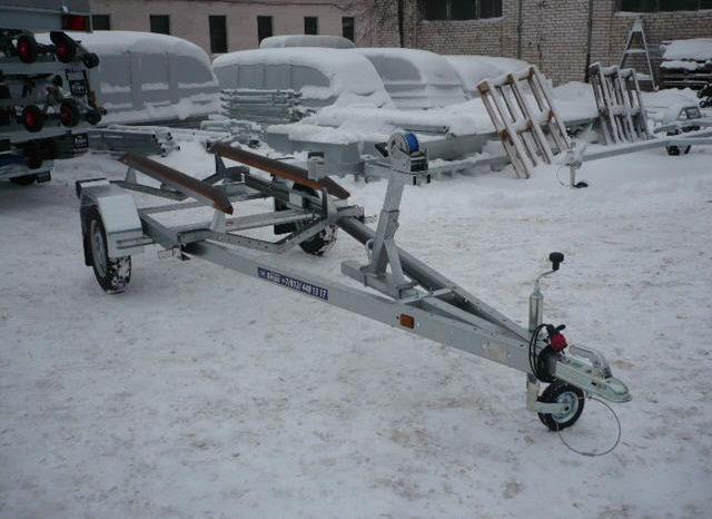 Прицеп для лодок с килем Respo V40T full
