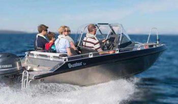 Лодка Buster Lx full