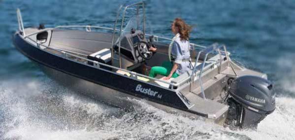 Лодка Buster M2 Mcc full